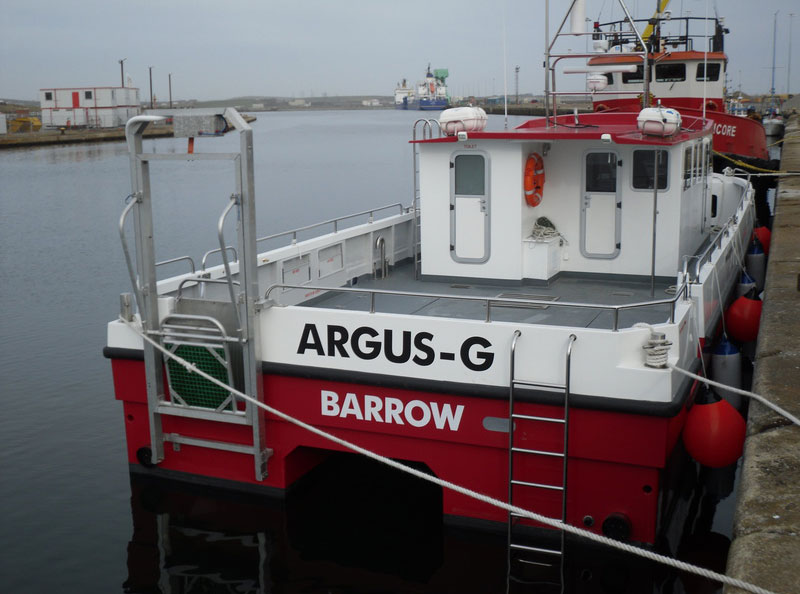Marine Towage Services - Bay Towage, Barrow-in-Furness, Cumbria